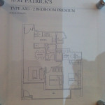 Show Unit Plan 2 Bedroom P