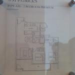 Show Unit Plan 2 Bedroom P
