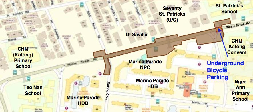 Seventy St Patrick Marine Terrace MRT Station